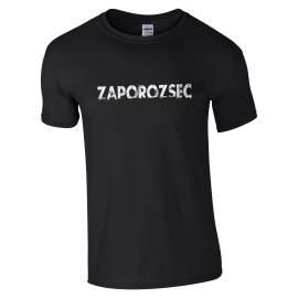 Zaporozsec - Zaporozsec póló férfi fekete