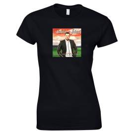 Postás Józsi - Lemezborító póló női fekete